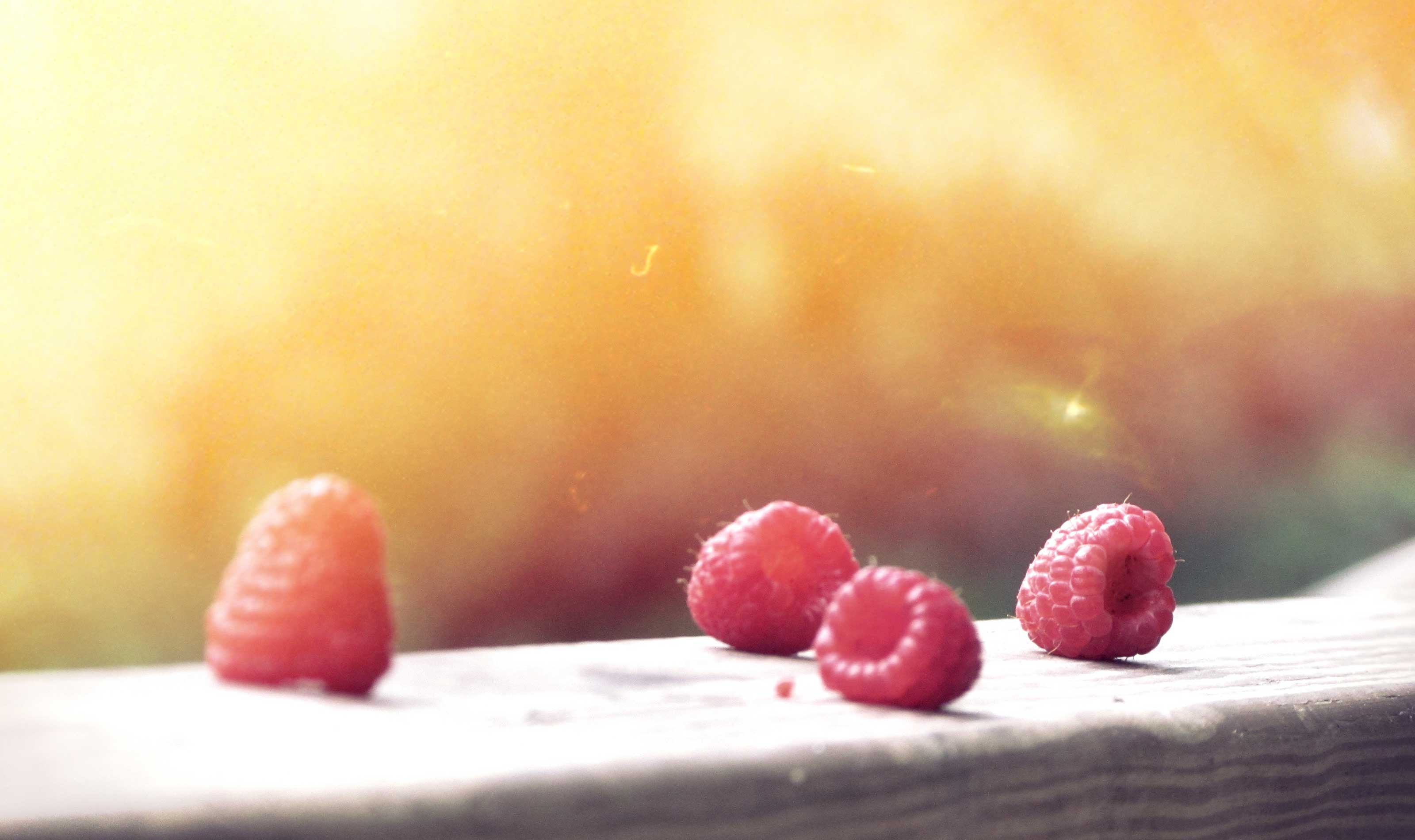 Photograph: Raspberries
